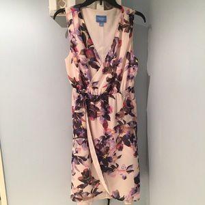 Simply Vera flowy dress with tulip hem, size L